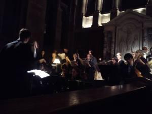 Hertford College, Oxford: performance of Campra's Requiem
